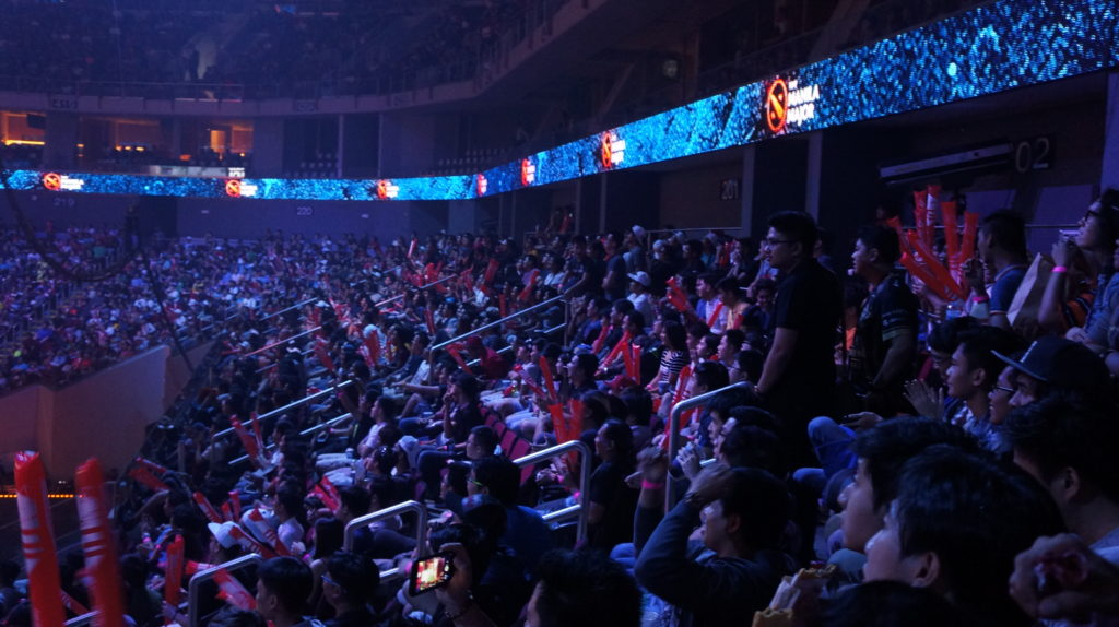 MoA Arena is packed!