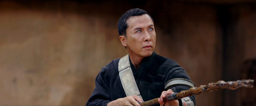 May the Force be with Ip Man! :D Donnie Yen plays a blind spiritual bad-ass of sorts