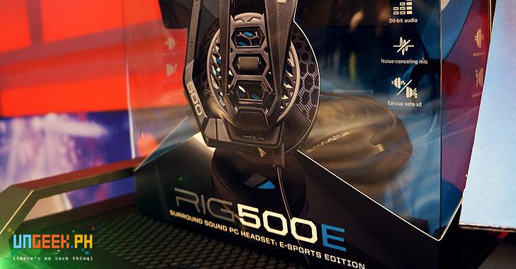 Plantronics RIG 500E