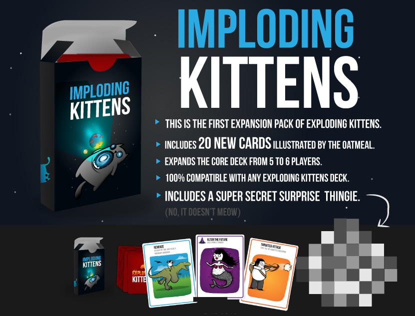 Exploding kittens expansion rules