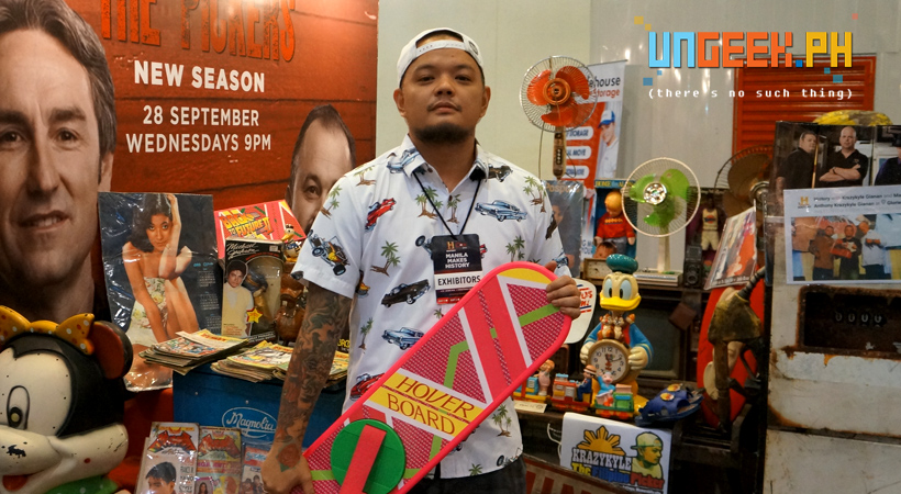 Krazykyle aka the Filipino Picker showcases his wares!