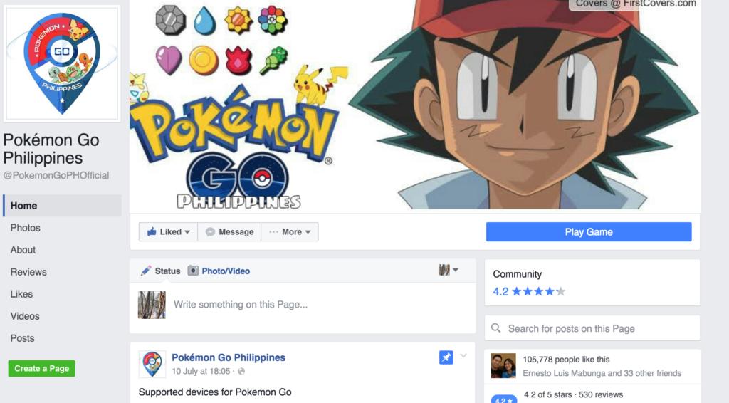 Pokemon GO PH Fan Page