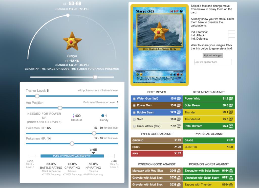 Pokémon Rater (poke.isitin.org)