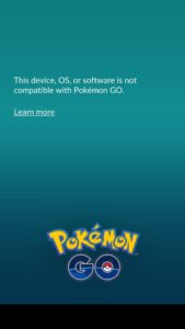 Pokémon GO - Rooted Device