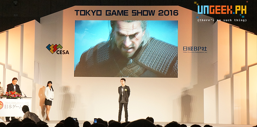 Witcher 3 is one of the recipients of GoTY in Tokyo Game Show 2016