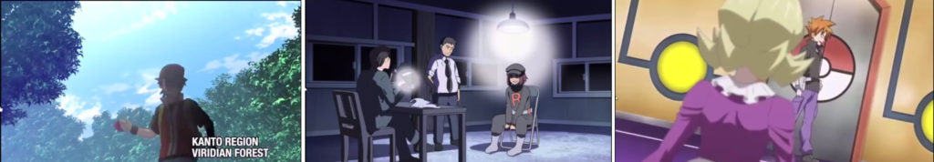 "Pokemon Generations Episodes 1 to 3: ""The Adventure"", ""The Chase"", ""The Challenger"""