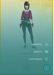 Pokémon GO - Buddy Option