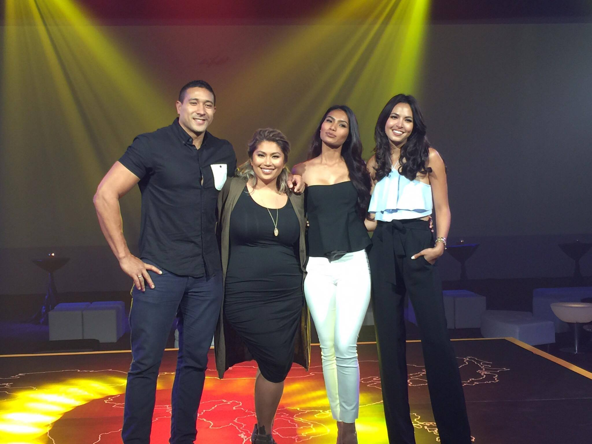 Team #TARAEricRona and Team #TARAMagParul as they represent the Philippines for season 5 of the Amazing Race Asia!