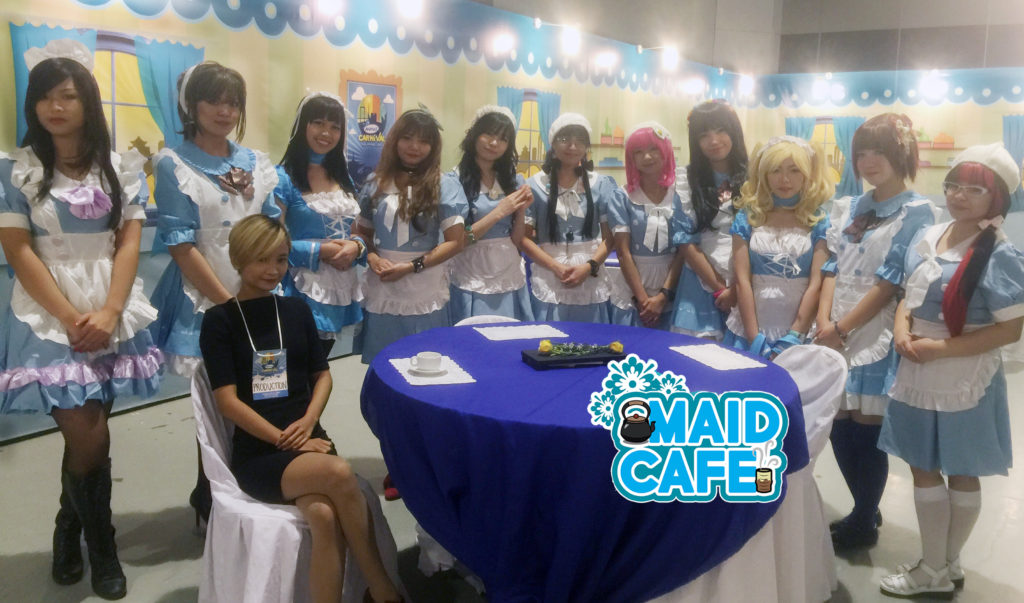 Maid Cafe @ Animax Carnival 2016
