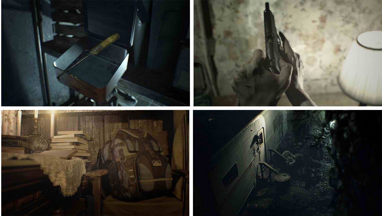 Scenes from RE7