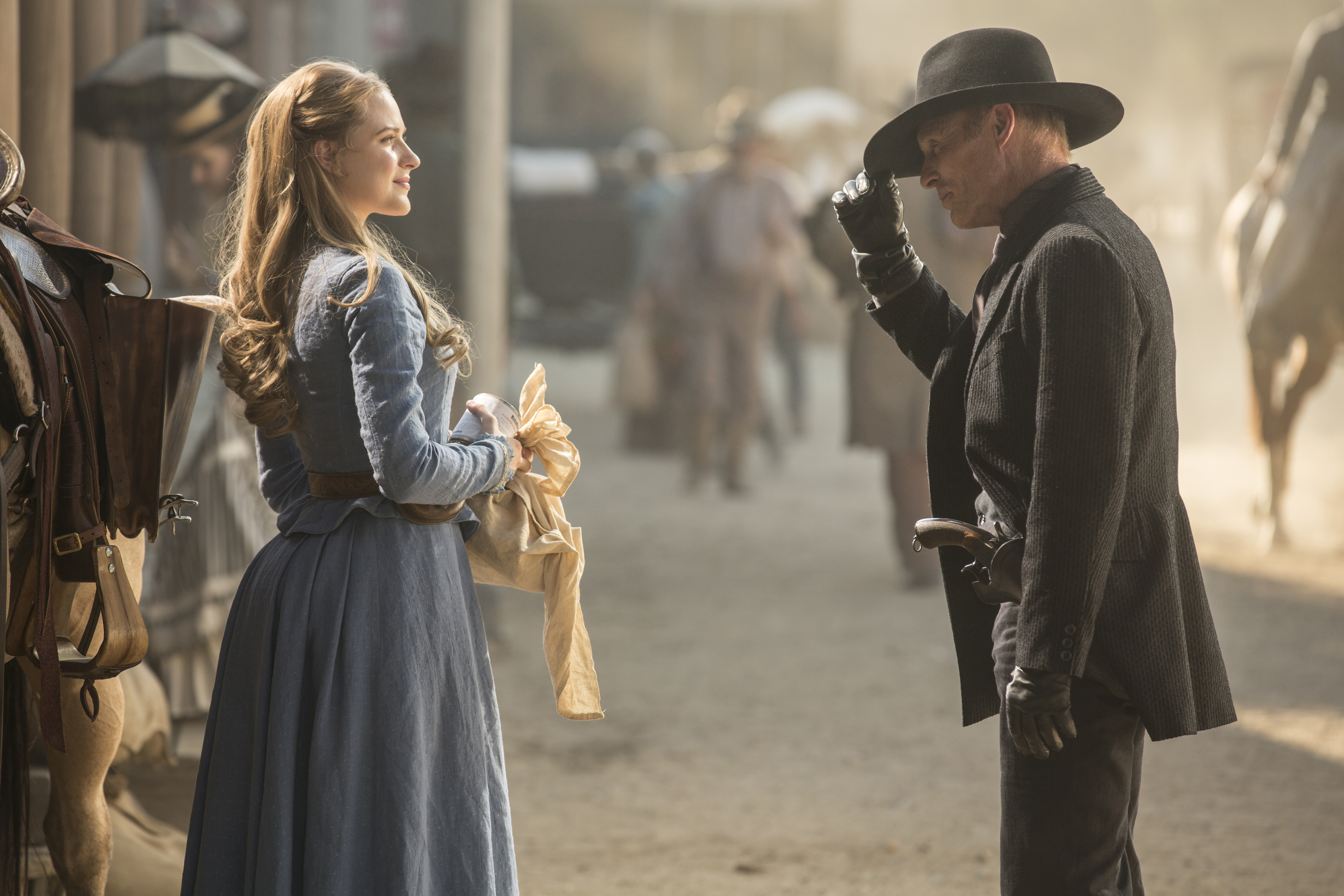"""Ed Harris, who plays the role of """"The Man in Black"""", is a polarizing personality in the show."""