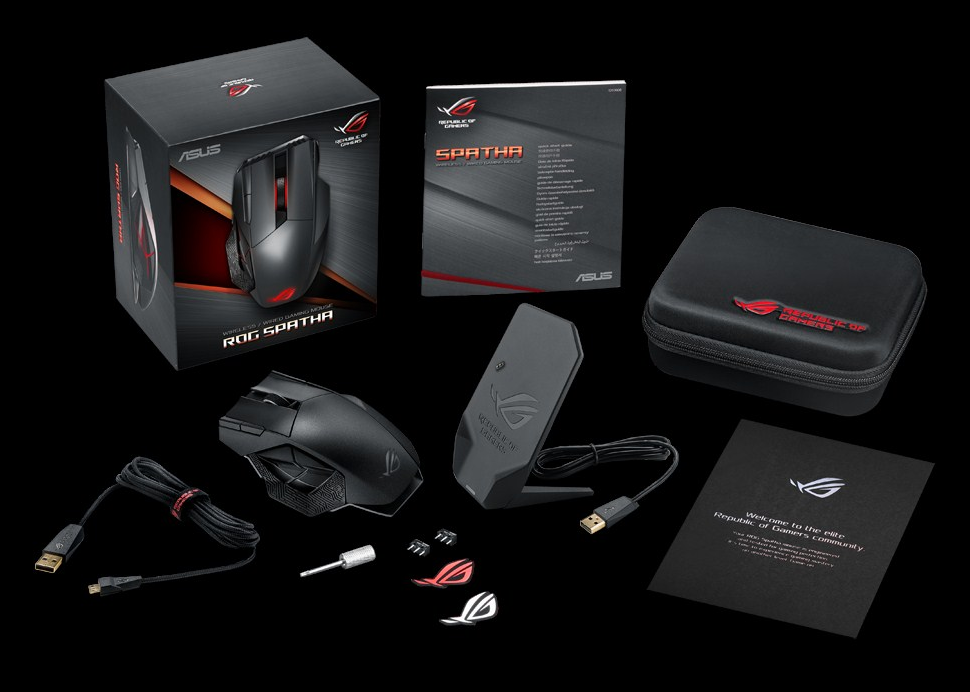 "Behold the ROG ""Spatha"", the gaming mouse that will give you an unfair advantage for your favorite MMO's!"
