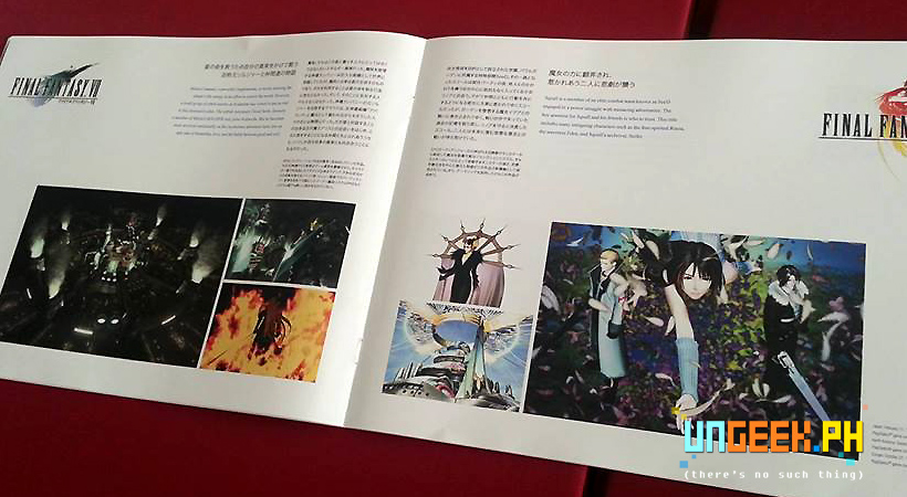 Distant Worlds Playbills in super glossy paper.