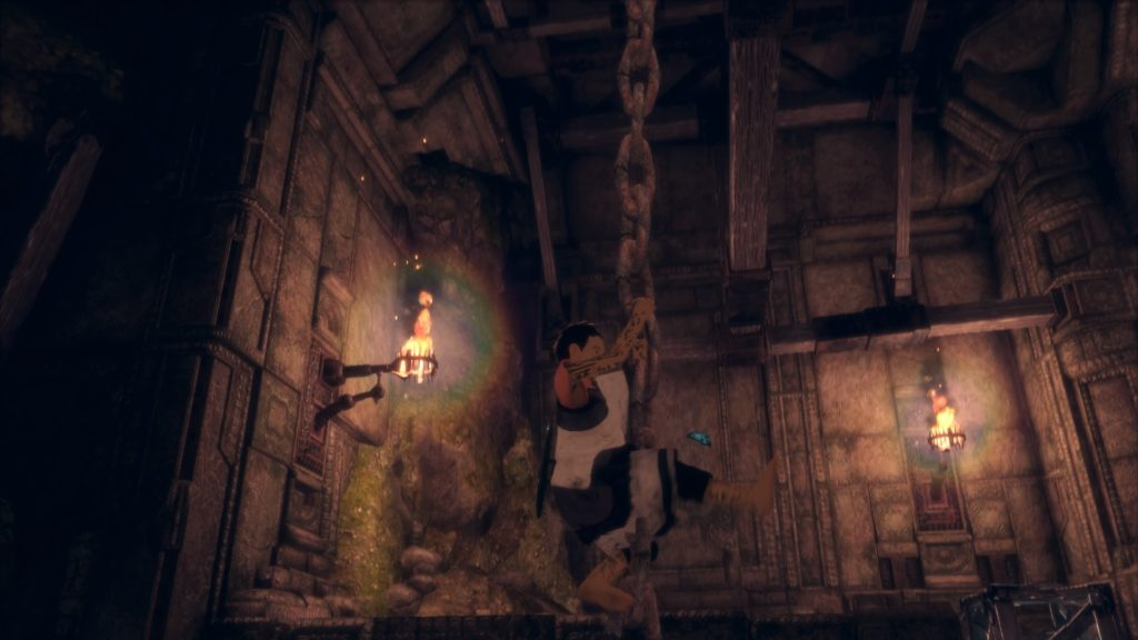 You will be doing a LOT of climbing in this game, whether it be on chains, walls, or even Trico!
