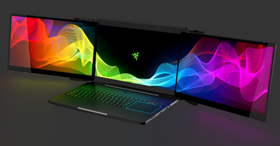 Behold! Razer Introduces the World's 1st Triple-Monitor