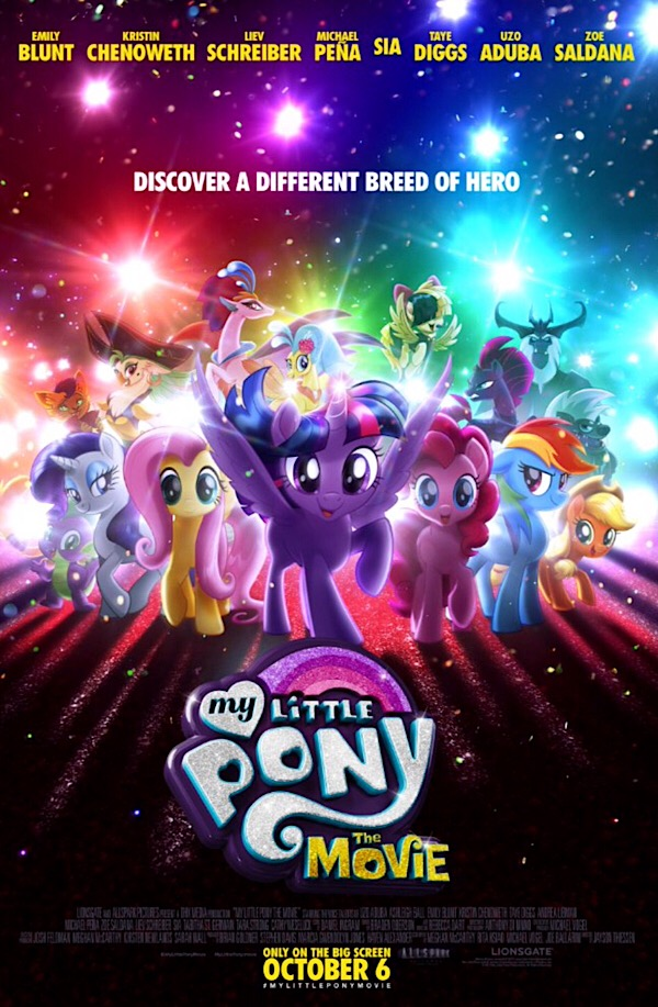An epic adventure of pony proportions! My Little Pony: The Movie