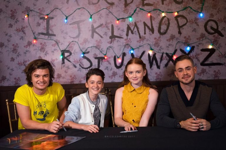 Afternoons are for Milkshakes and Meditation | Stranger Things 2 Cast at APCC Manila 2017!