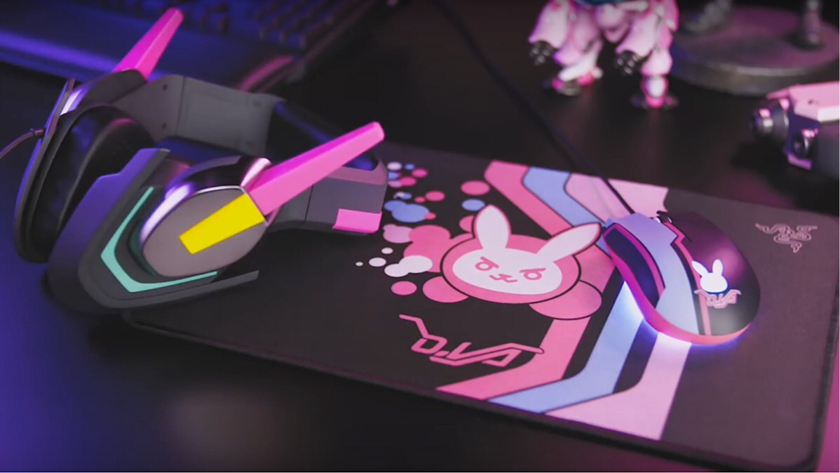 3df4e39afda Get your Game Face on with some D.Va Razer Gaming Gear! | Ungeek