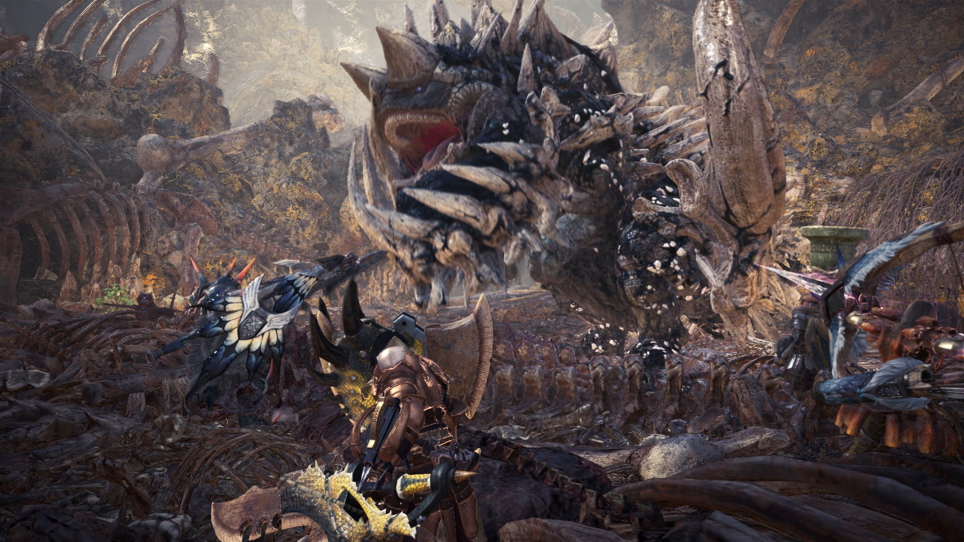 Exclusive Monster Hunter World Devs Fly In To Share Their World