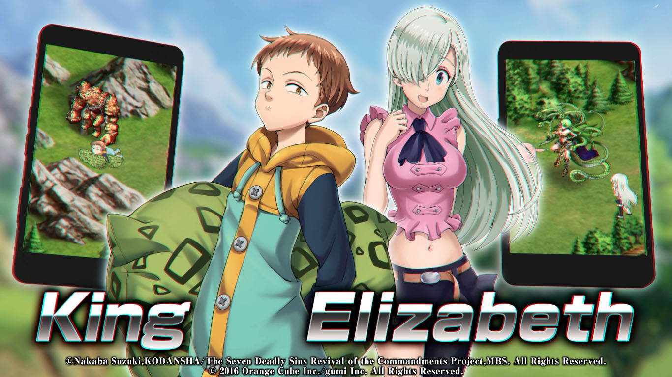 Crystal of Re:Union and Seven Deadly Sins Epic Mobile Game
