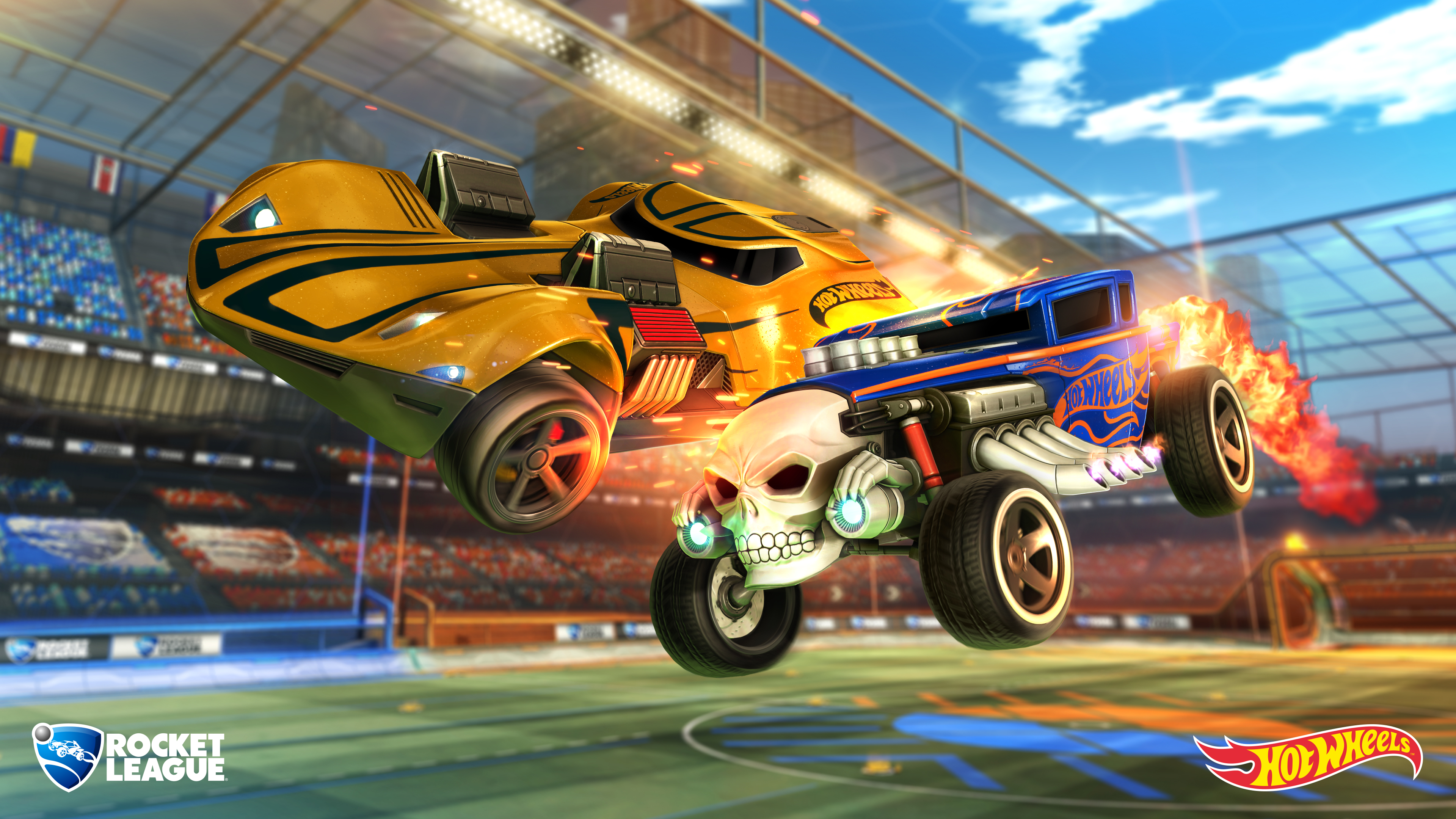 Hot Wheels Partners With Psyonix To Bring Rocket League to