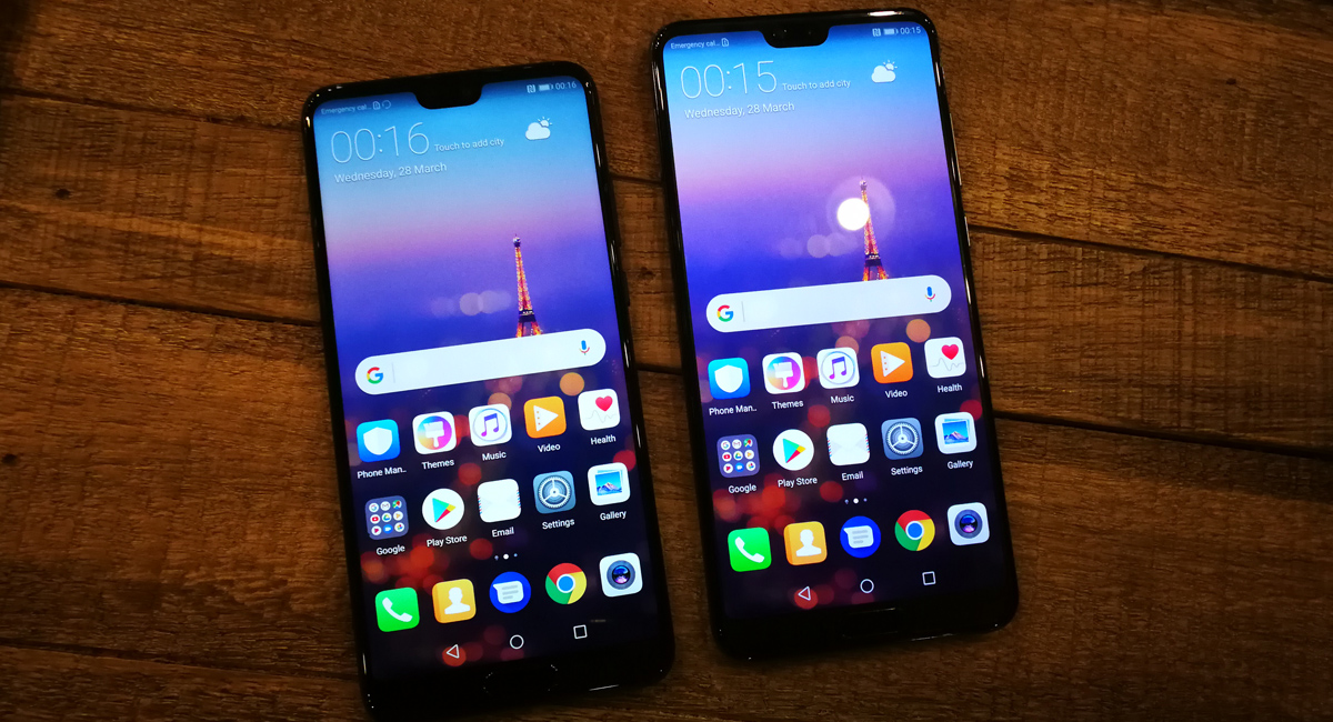 Huawei P20 and P20 Pro are two Android Phones we really