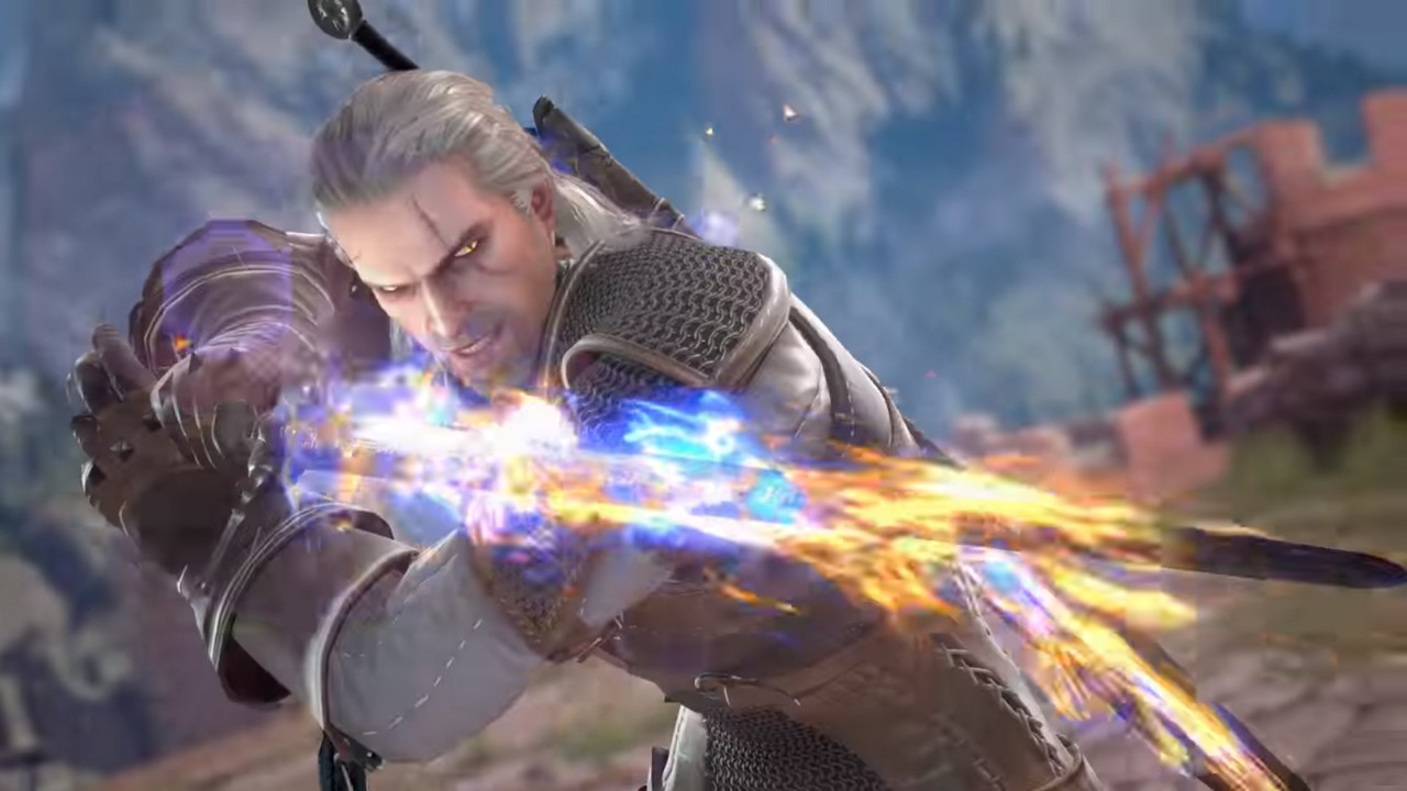 Geralt of Rivia joins the fight in SoulCalibur VI! | Ungeek