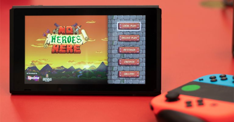Indie game 'No Heroes Here' for the Switch might just be the next party game for you