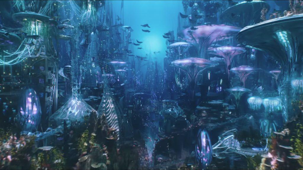 Aquaman Movie Trailer Drops On Sdcc 2018 Feat Mera Ocean Master