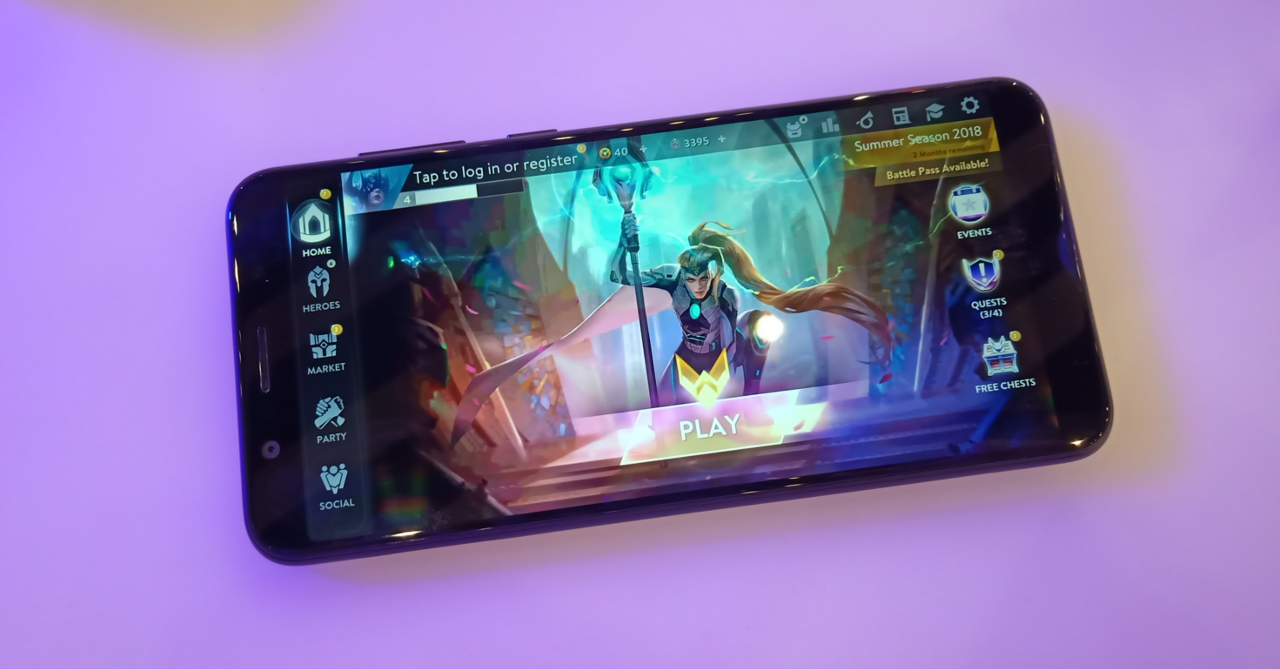 Game-on-the-go even more with the ASUS ZenFone Max Pro M1 4GB/64GB