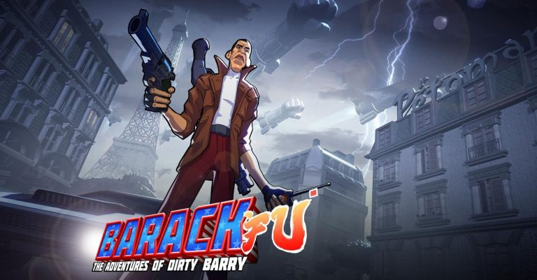 Play as Barack Obama in 'Barack Fu: The Adventures of Dirty Barry'