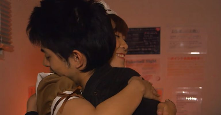 WATCH: Japanese 'Cuddle Cafe' gives customers hugs, lap pillows for a fee