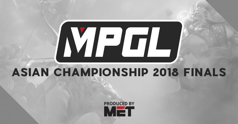 The MPGL Asian Championship 2018 Finals in Thailand is esports for a cause