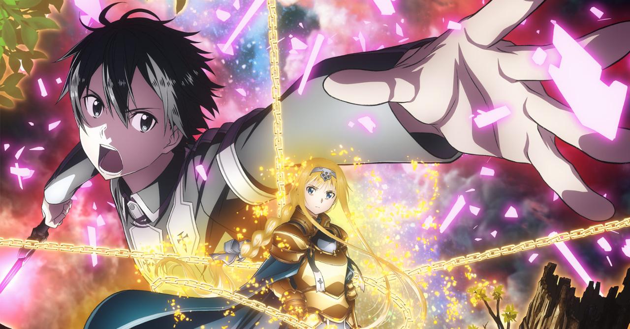Sword art online season 3 is coming this october