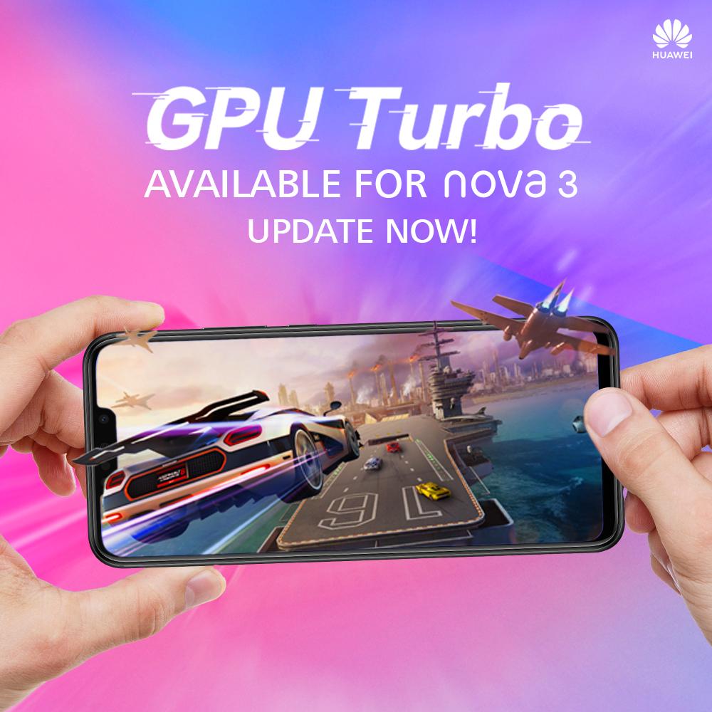 GPU Boost comes to Huawei Nova 3 and Nova 3i   Ungeek