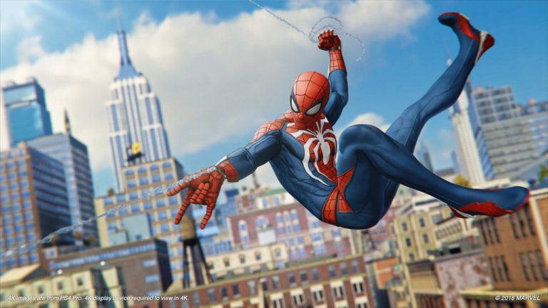 Marvel's Spider-Man becomes fastest-selling game of the year in the UK!