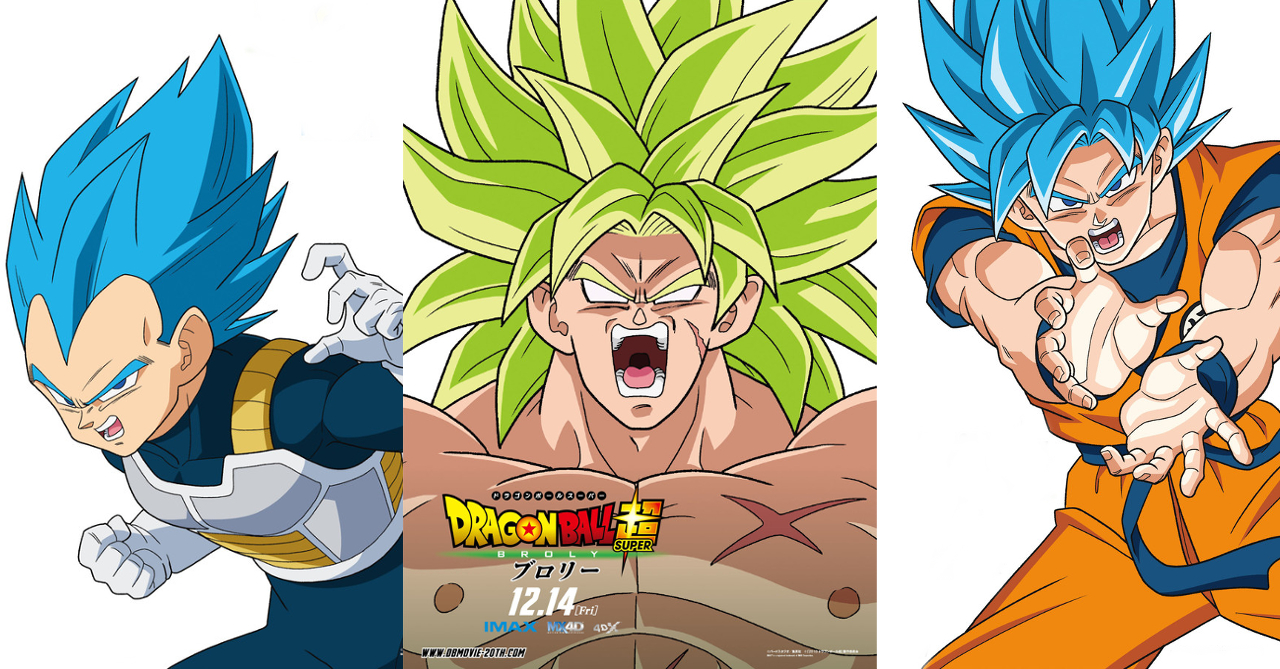 Check Out These Awesome New Dragon Ball Super Broly Character