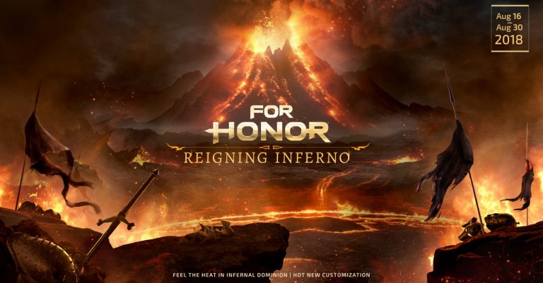 """Fiery challenges await in For Honor's """"Reigning Inferno"""" event"""