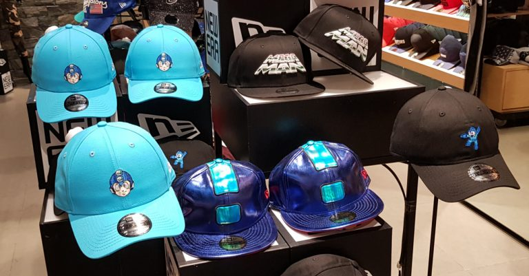 Show off your inner Geek in style with the New Era X Mega Man caps