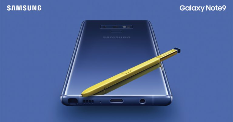 Hello Gorgeous!   Samsung unveils the Galaxy Note 9