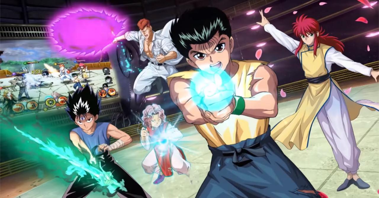 Closer look at upcoming Yu Yu Hakusho mobile game! | Ungeek