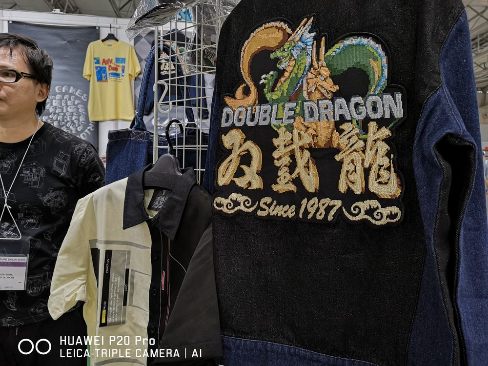5e33d1e71 Near the Cospa store is a booth by Cassete Disc/Games Glorious. The said  store is a retro gamer's happy place at TGS, as the booth has t-shirts and  pins for ...