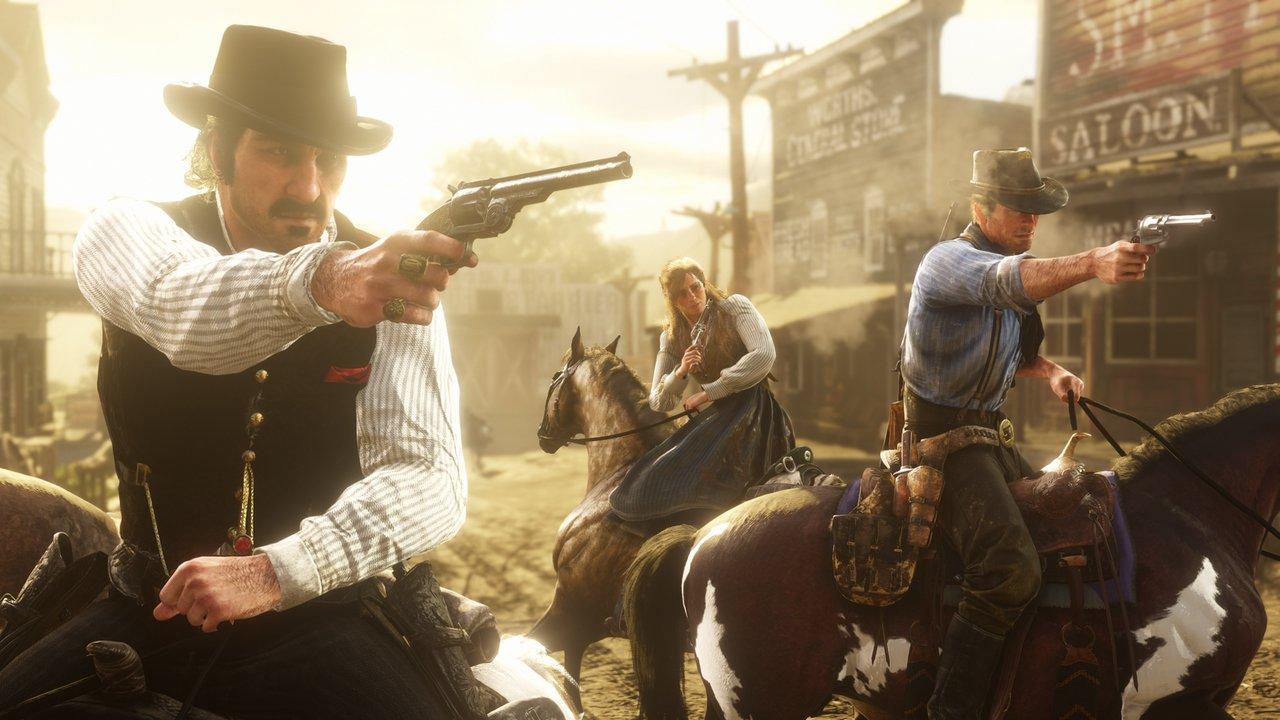 Rockstar Games Announces Red Dead Online | Ungeek