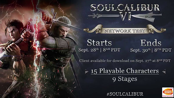 You Can Try Out Soulcalibur VI via the Game's Network Test This September!