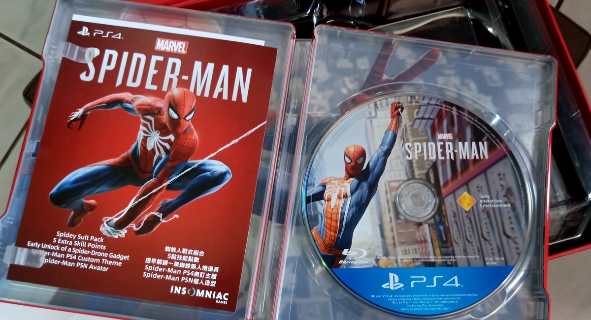spider man collectors edition unboxing