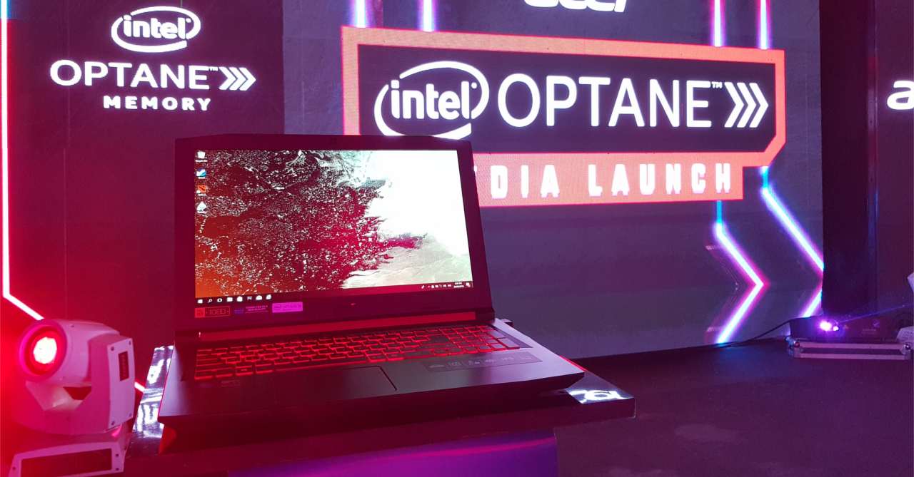 Acer launches the Intel Optane-powered Nitro 5 gaming laptop