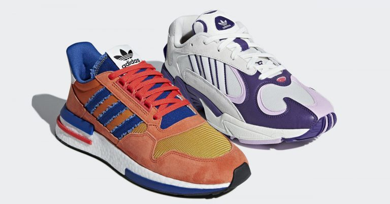 """Adidas X Dragon Ball """"Son Goku"""" ZX 500 RM and """"Frieza"""" Yung-1 releasing in the PH soon"""