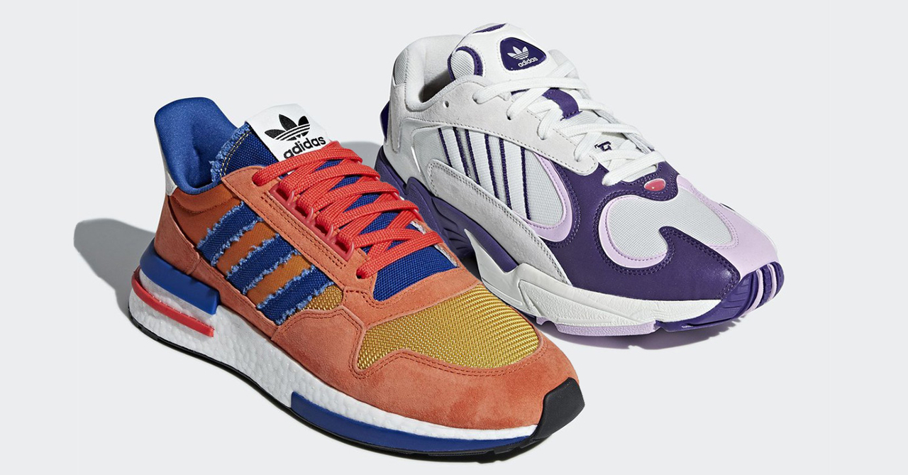 "bf3b7dee471d9 Adidas X Dragon Ball ""Son Goku"" ZX 500 RM and ""Frieza"" Yung-1 releasing in  the PH soon"