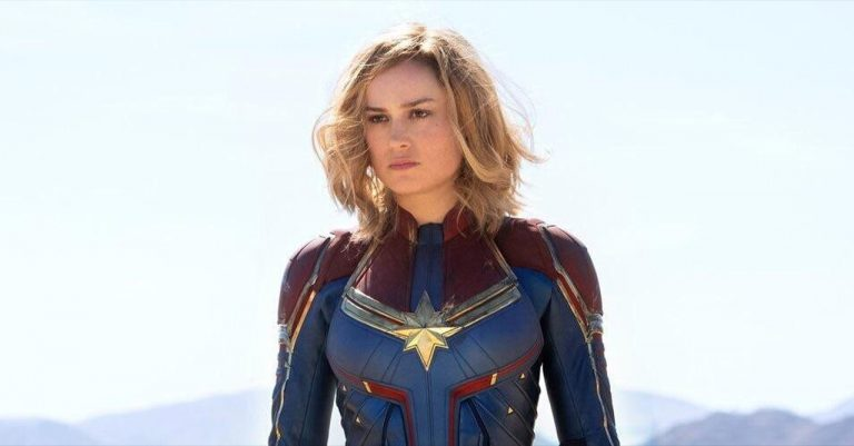 First Look at Brie Larson as Captain Marvel!