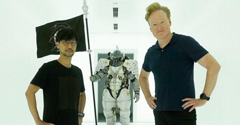 Conan O'Brien shot something 'super secret' with Hideo Kojima in Tokyo